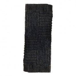 ZONE Ručník na obličej 30 x 30 cm black CLASSIC