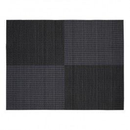 ZONE Prostírání 30 × 40 cm black square pattern