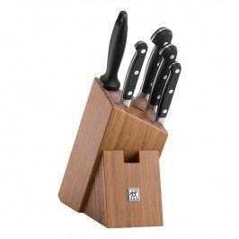 ZWILLING Sada nožů s bambusovým blokem a ocílkou 6dílná ZWILLING® Pro