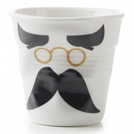 REVOL Kelímek na cappuccino 18 cl Monsieur Binocle Froissés