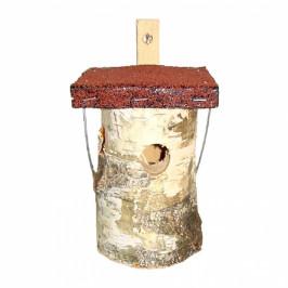 Budka pro ptáčky březová 15,9x14,2x25cm