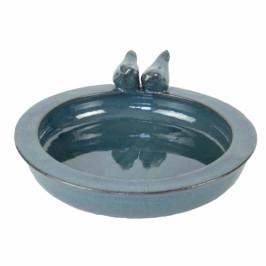 Keramické pítko pro ptáky modré 30,7cm