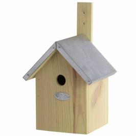 Dřevěná budka pro sýkorky 17,9x18,1x32cm