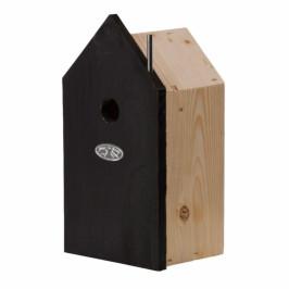Ptačí budka černý domeček 12,6x9,5x21,7cm