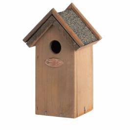 Dřevěná ptačí budka antik 16x11,3x21,5cm
