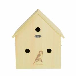 Budka pro vrabce trojbudka 16,4x33,3x35,8cm