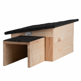 Domek pro ježka dřevěný 27x36x20cm