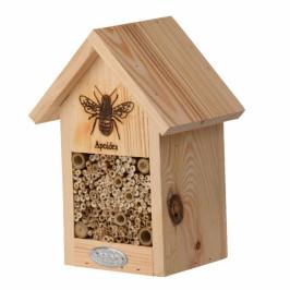 Dřevěný domeček pro včely 17x23x12cm