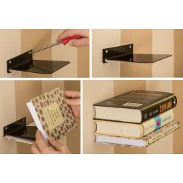 Neviditelná police na knihy