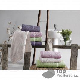 Bambusový ručník Sofia - Starorůžový