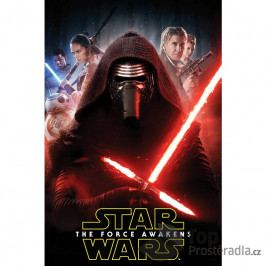 TOP Fleecová deka 100x150 Star Wars The force awakens