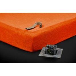 TP Froté prostěradlo Premium 190g/m2 90x200 Oranžová