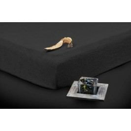 TP Froté prostěradlo Premium 190g/m2 180x200 Černá