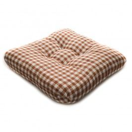 TP Sedák na židli 40x40 Molitanový Hnědý kanafas