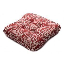 TP Sedák na židli 40x40 Molitanový Harmony červený