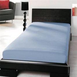 TP Jersey prostěradlo Premium 190g/m2 90x200 Nebeská modř