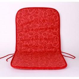 TP Sedák na židli 40x80 Molitanový Červené baroko