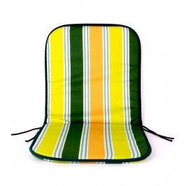 TP Sedák na židli 40x80 Molitanový Žluté pruhy