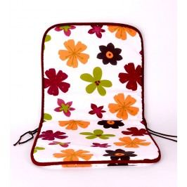 TP Sedák na židli 40x80 Molitanový Retro květy