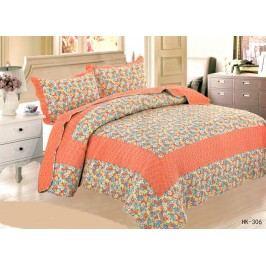 TOP Přehoz na postel  s povlaky na polštářky 230x250 + 2x50x70 Limoges