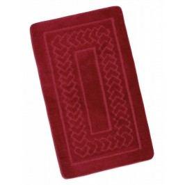 Koupelnová předložka 60x100cm červené Bolzáno