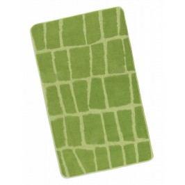 Koupelnová předložka 60x100cm zelená kostka