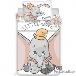 TOP Bavlněné povlečení do postýlky 40x60+100x135  Dumbo Stripe baby