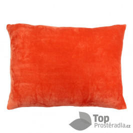 TP Povlak na polštář mikroflanel 50x70 Oranžový