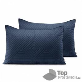TOP Povlak na polštářek SOFTA 50x70 saténový 1 ks - Grafitovo-růžový