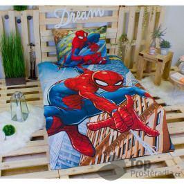 TOP Bavlněné povlečení 140x200+70x90 Spiderman