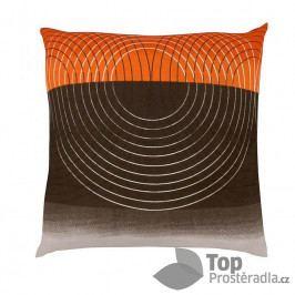 Bavlněný povlak DELUX SALMON STRIPE  70x90