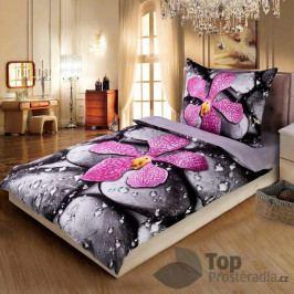 3D povlečení 140x200 + 70x90 - Orchidea