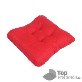 TP Sedák na židli 40x40 Molitanový Červený