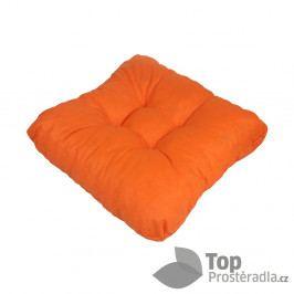 TP Sedák na židli 40x40 Molitanový Oranžový