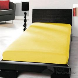 TOP Microtop prostěradlo 90x200 - Žlutá