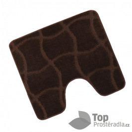 WC předložka 50x60cm hnědá čokoláda