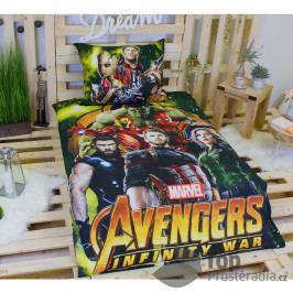 TOP Bavlněné povlečení 140x200+70x90 Avengers Infinity war