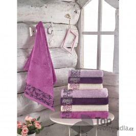 Bambusový ručník Nice COLLECTION - Tmavě Fialová