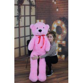 Baby Nellys Plyšový medvěd 160cm - růžový