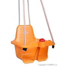 Houpačka s pískátkem oranžová