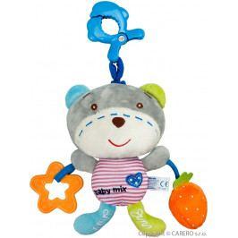 Dětská plyšová hračka se zvukem Baby Mix medvídek