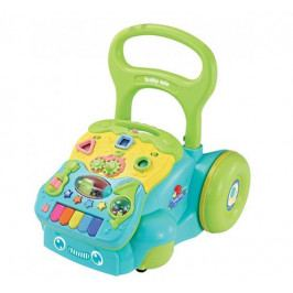 BABY MIX Dětské edukační chodítko - modré