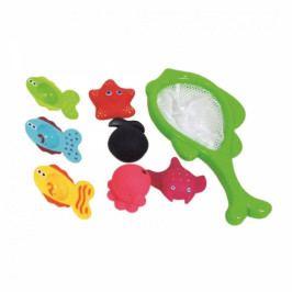 Bino Sada hraček do vody se síťkou - mořský svět