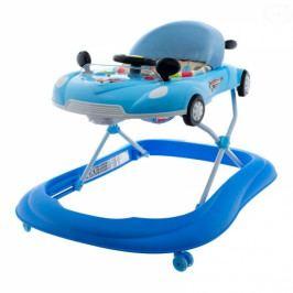 EURO BABY Multifunkční chodítko s volantem - modré