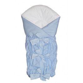 Ty i My Zavinovačka SAFETY 75x75cm - modrá - jemná kostička