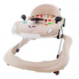 EURO BABY Multifunkční chodítko s volantem - béžové