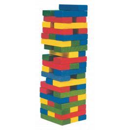 Woody Dřevěné hračky Woody - Jenga -Tower Tony věž-barevná