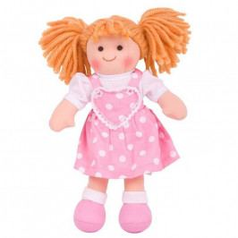 Bigjigs Toys Bigjigs Toys Látková panenka Ruby 30 cm