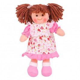 Bigjigs Toys Bigjigs Toys Látková panenka Amy 28 cm