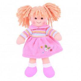 Bigjigs Toys Bigjigs Toys Látková panenka Jenny 28 cm